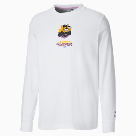 PUMA x BOKU Herren Langarm-Shirt, Puma White, small