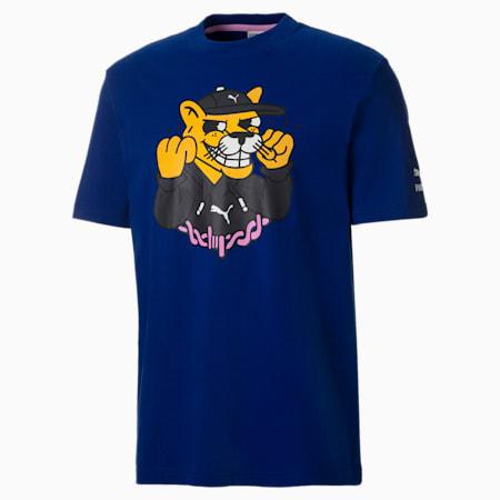 PUMA x AKA BOKU Men's  Relaxed T-Shirt, Sodalite Blue, small-IND