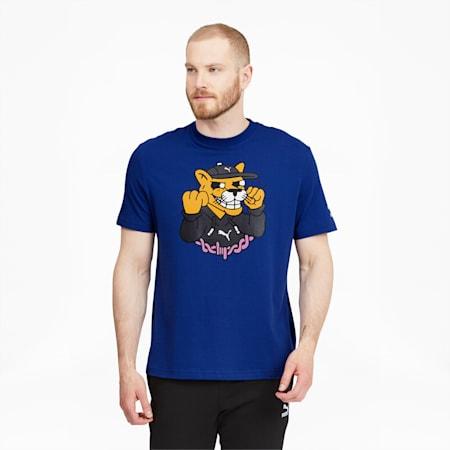 CamisetaPUMA x AKA BOKUpara hombre, Sodalite Blue, pequeño