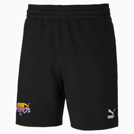 PUMA x AKA BOKU Men's Shorts, Puma Black, small-IND