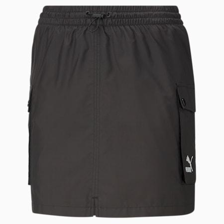 Classics Women's Cargo Skirt, Puma Black, small