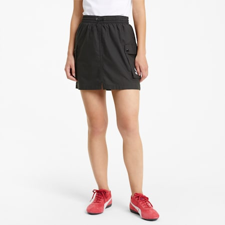 Classics Women's Cargo Skirt, Puma Black, small-SEA