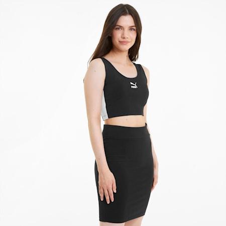 Iconic T7 Women's Bralette, Puma Black, small