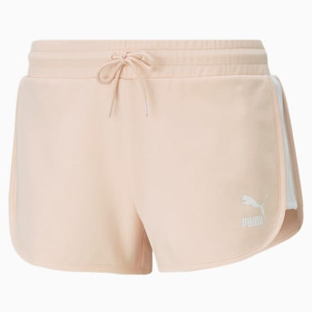 Iconic T7 Women's Shorts, Cloud Pink, small-GBR