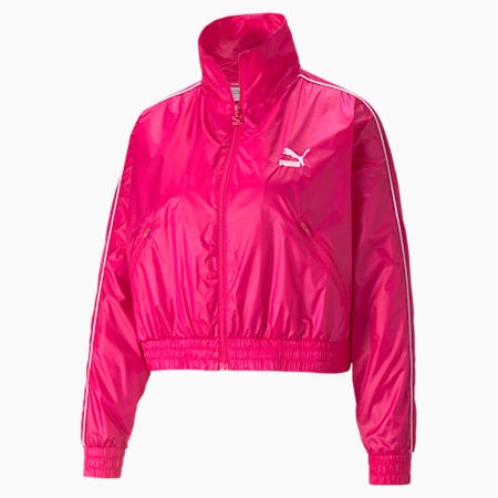 Iconic T7 Woven Women's Track Relaxed Jacket, Beetroot Purple-CLights, small-IND