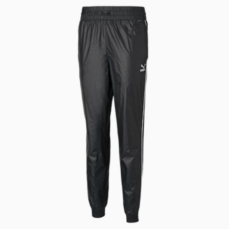 Iconic T7 Woven Women's Track Relaxed Pants, Puma Black, small-IND