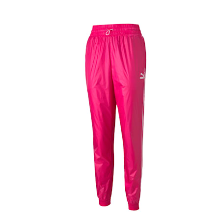 Iconic T7 Woven Women's Track Relaxed Pants, Beetroot Purple-CLights, small-IND