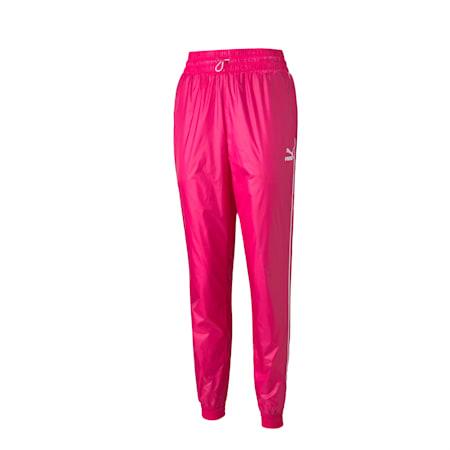 Emblématique pantalon de survêtement tissé T7, femme, Rose betterave-lumières de la ville, petit