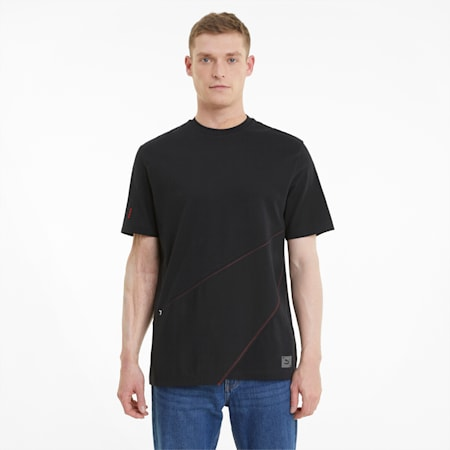 RE.GEN Panel Relaxed T-shirt, Anthracite, small-IND