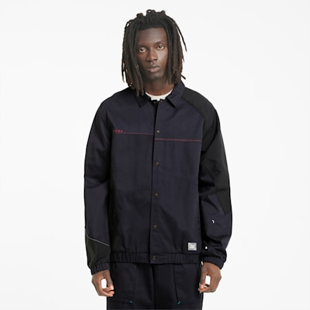 RE.GEN Unisex Woven Jacket, Anthracite, small