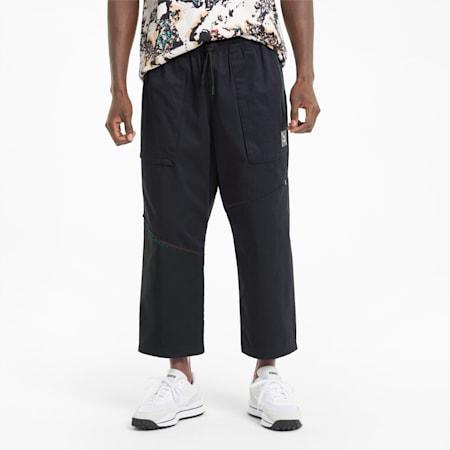 Pantalon tissé RE.GEN Unisex, Anthracite, small