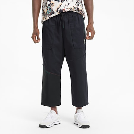 RE.GEN Unisex Woven Pants, Anthracite, small-SEA