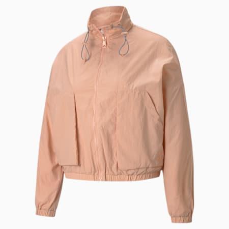 Infuse Women's Woven Jacket, Dusty Pink, small-SEA