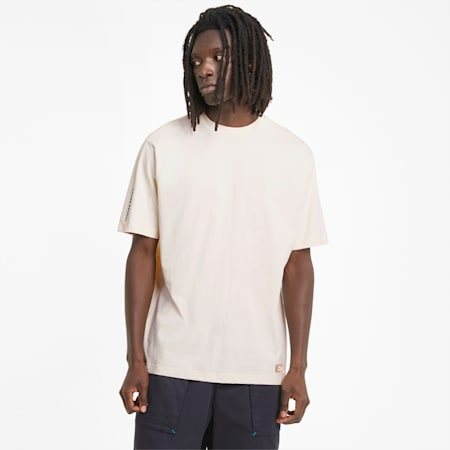RE.GEN Unisex  Relaxed T-shirt, no color-bye dye, small-IND