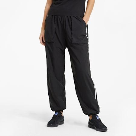 Infuse Woven Women's Pants, Puma Black, small-SEA