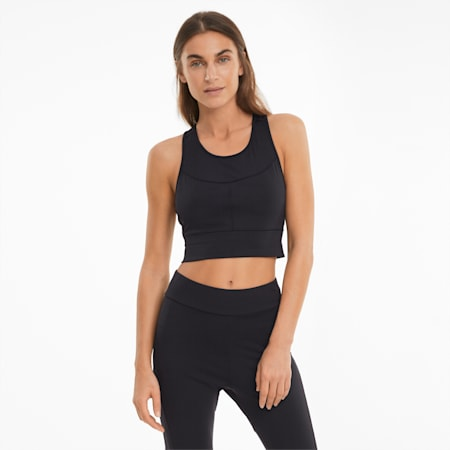 Infuse Women's Crop Top, Puma Black, small