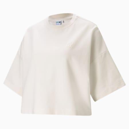 Camiseta holgada Infuse para mujer, Whisper White, pequeño
