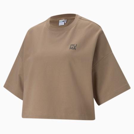 Infuse Loose Fit Damen T-Shirt, Amphora, small