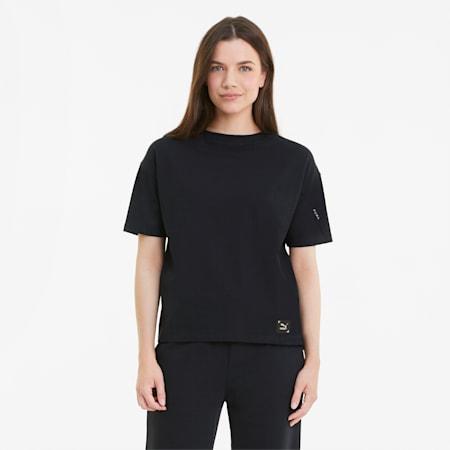 T-shirt RE.GEN femme, Anthracite, small