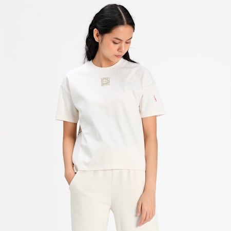 RE.GEN Women's Relaxed T-shirt, no color, small-IND