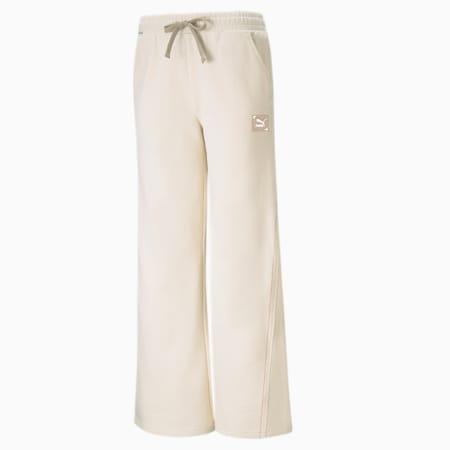 RE.GEN Wide Leg Women's Pants, no color-bye dye, small-IND