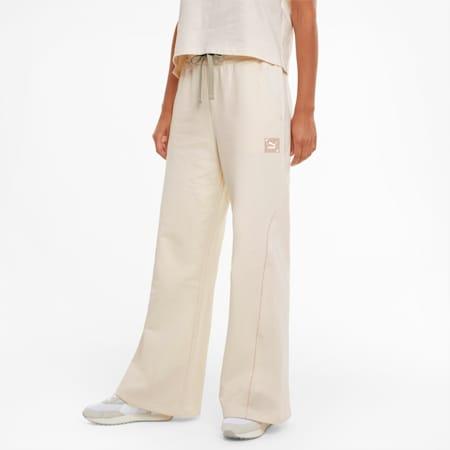 RE-GEN Damen Trainingshose mit weitem Bein, no color-bye dye, small