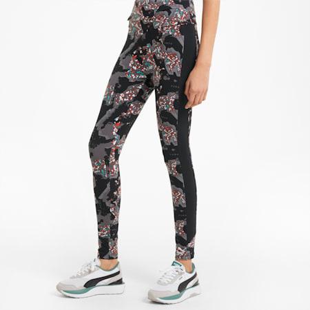 RE.GEN legging met print dames, Anthracite, small