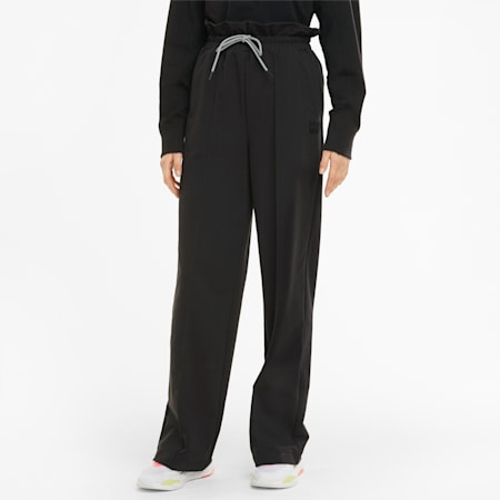 Infuse Women's Paperbag Pants, Puma Black, small-SEA