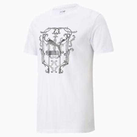 Luxe Graphic Men's Tee, Puma White, small-SEA