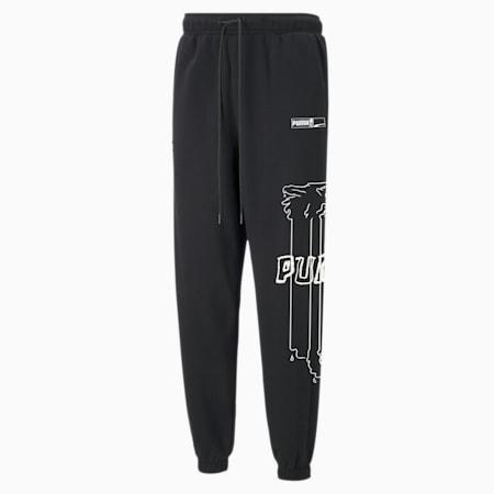 Franchise Men's Sweatpants, Puma Black, small