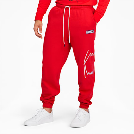 Franchise Men's Sweatpants, High Risk Red, small