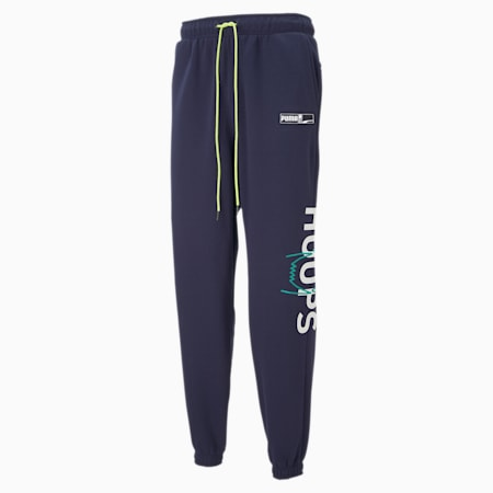 Franchise Men's Basketball Sweatpants, Peacoat, small-IND
