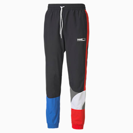 Formstrip Men's Woven Pants, Puma Black-Puma White, small
