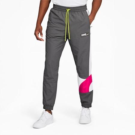Formstrip Men's Woven Pants, CASTLEROCK-Pink Glo, small