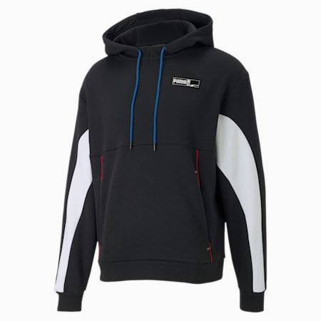 Formstrip Winterized Men's Hoodie, Puma Black, small
