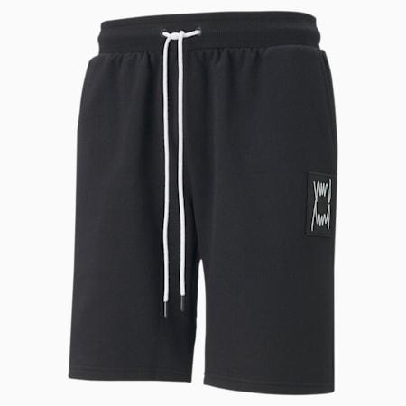 Pivot Men's Sweat Shorts, Puma Black, small