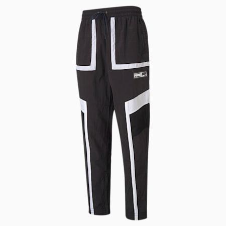 Court Side Men's Basketball Pants, Puma Black, small-GBR
