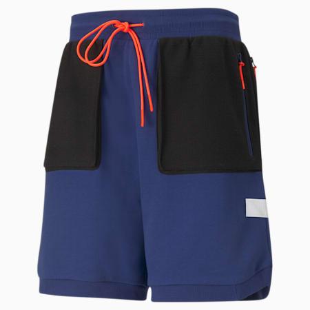Standby Men's Basketball Shorts, Elektro Blue, small-IND
