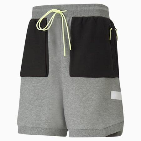 Standby Men's Basketball Shorts, Medium Gray Heather, small-GBR