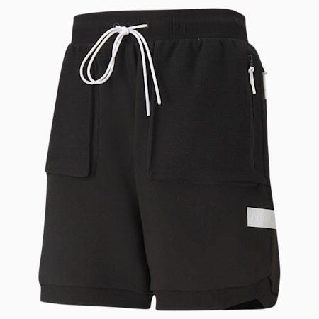 Standby basketbalshort heren, Puma Black, small