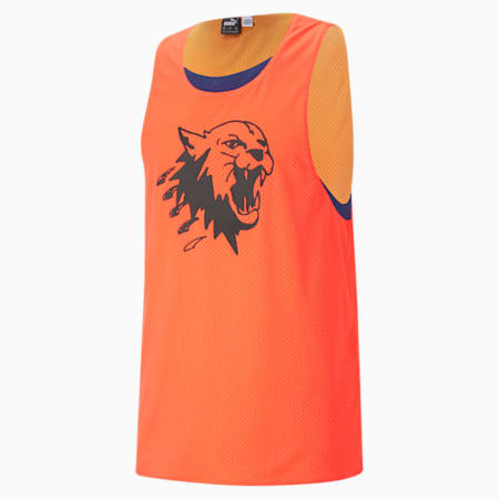 Up 1 Men's Basketball Jersey, Fiery Coral-Elektro Blue, small-IND