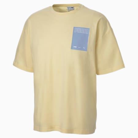 Evolution Graphic Herren T-Shirt, French Vanilla, small