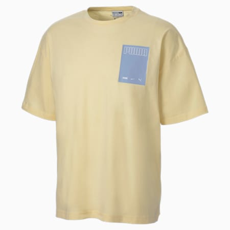Evolution Graphic Men's Tee, French Vanilla, small