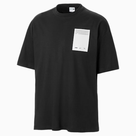 Camiseta para hombre Evolution Graphic, Puma Black, small