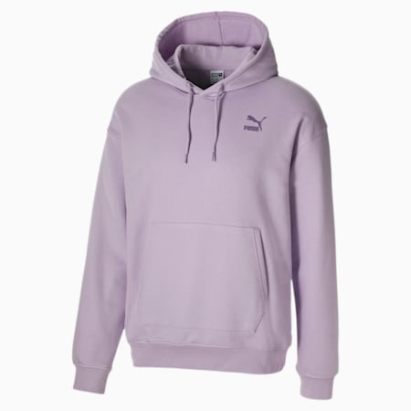Men's Hoodie, Pastel Lilac, small