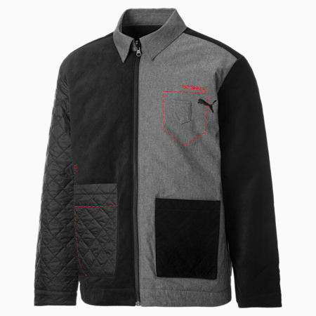 PUMA x MICHAEL LAU Chore Men's Jacket, Puma Black, small-GBR