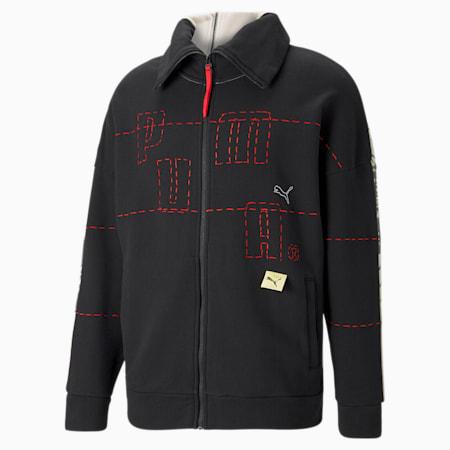 PUMA x MICHAEL LAU 2Face Men's Jacket, Eggnog, small