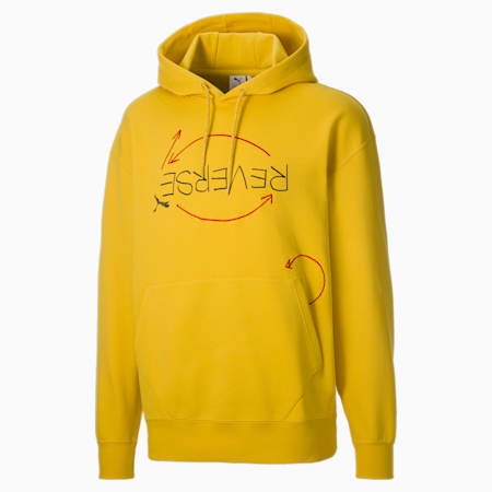 Sweat à capuche PUMA x MICHAEL LAU revisité homme, Super Lemon, small