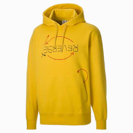 PUMA x MICHAEL LAU Rev Men's Hoodie, Super Lemon, small-GBR