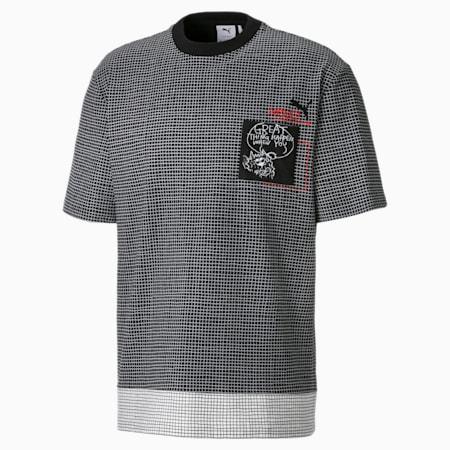 Męski T-shirt z kieszonką PUMA x MICHAEL LAU, Puma Black, small